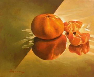 Tangerines 2012 20x24 Original Painting by Jose Higuera