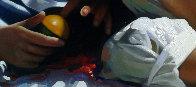 Rest 2014 32x46 Super Huge Original Painting by Jose Higuera - 4