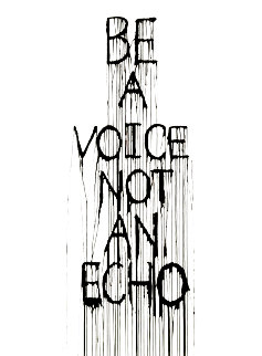 Be a Voice 2015 Limited Edition Print -  Hijack