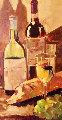Chardonay 2004 29x17 Original Painting - Darrell Hill