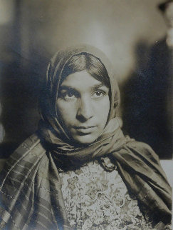 Gypsy (Ellis Island #47) Photography - Lewis Hine