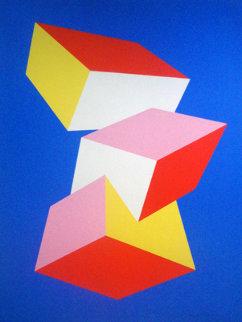 Avant La Lettre 1973 Limited Edition Print - Charles Hinman