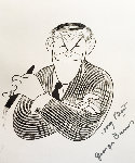 George Burns Personally Annotated 1989 Signed by George Limited Edition Print - Al Hirschfeld