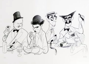 Great Comedians 2000 Limited Edition Print - Al Hirschfeld