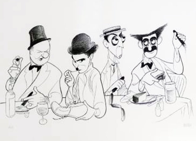 Great Comedians 2000 Limited Edition Print by Al Hirschfeld