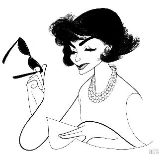 Jackie O 1983 Limited Edition Print by Al Hirschfeld