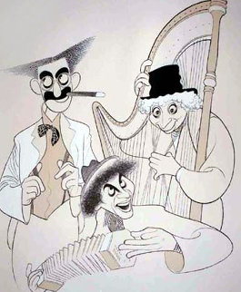 Marx Brothers 1977 Limited Edition Print by Al Hirschfeld