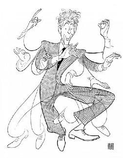 Danny Kaye 1990 Limited Edition Print by Al Hirschfeld