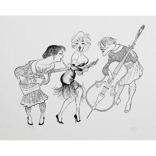 Some Like It Hot Limited Edition Print - Al Hirschfeld