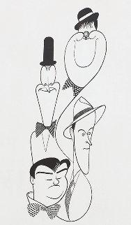Classic Comedians 1991 Limited Edition Print - Al Hirschfeld