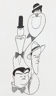 Classic Comedians 1991 Limited Edition Print by Al Hirschfeld