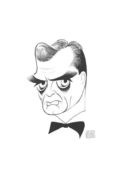 Untitled (Perry Mason) Limited Edition Print by Al Hirschfeld