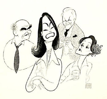 Mary Tyler Moore Limited Edition Print - Al Hirschfeld
