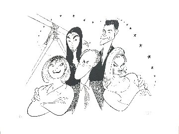 3rd Rock From the Sun 1997 Limited Edition Print - Al Hirschfeld