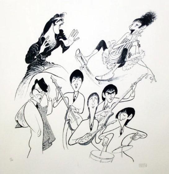 Sensations Limited Edition Print by Al Hirschfeld