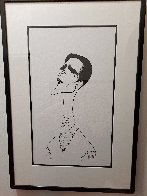 Howard McGillen As Billy Crocker in Anything Goes Drawing 1988 28x21 Drawing by Al Hirschfeld - 1