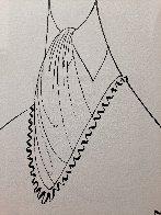 Howard McGillen As Billy Crocker in Anything Goes Drawing 1988 28x21 Drawing by Al Hirschfeld - 3