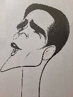 Howard McGillen As Billy Crocker in Anything Goes Drawing 1988 28x21 Drawing by Al Hirschfeld - 2