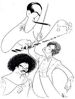 Rhapsody in Blue Gershwin 1980 Limited Edition Print - Al Hirschfeld