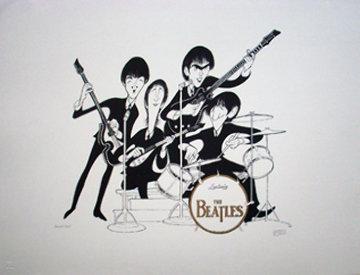 Beatles Limited Edition Print - Al Hirschfeld