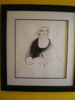 Self Portrait At 99 Limited Edition Print by Al Hirschfeld - 1