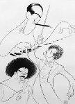 Rhapsody in Blue Gershwin Limited Edition Print - Al Hirschfeld