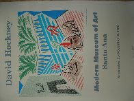 Moderne Museum of Art, Santa Ana Poster 1989 Limited Edition Print by David Hockney - 2