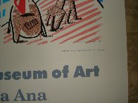 Moderne Museum of Art, Santa Ana Poster 1989 Limited Edition Print by David Hockney - 3