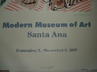 Moderne Museum of Art, Santa Ana Poster 1989 Limited Edition Print by David Hockney - 4