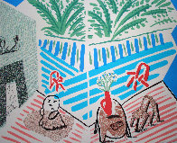 Moderne Museum of Art, Santa Ana Poster 1989 Limited Edition Print by David Hockney - 0