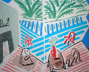 Moderne Museum of Art, Santa Ana Poster 1989 Limited Edition Print by David Hockney