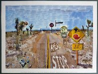 Pearblossom Hwy, 11-18th, April 1986, #2  2012 Poster HS Limited Edition Print by David Hockney - 1