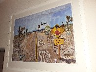 Pearblossom Hwy, 11-18th, April 1986, #2  2012 Poster HS Limited Edition Print by David Hockney - 5