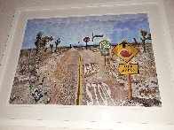 Pearblossom Hwy, 11-18th, April 1986, #2  2012 Poster HS Limited Edition Print by David Hockney - 3