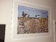 Pearblossom Hwy, 11-18th, April 1986, #2  2012 Poster HS Limited Edition Print by David Hockney - 4