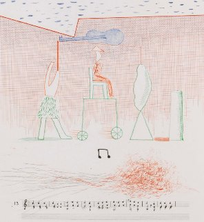 Parade 1976 Limited Edition Print - David Hockney