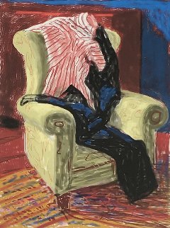 My Shirt And Trousers 2010 Limited Edition Print - David Hockney