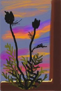 Early Morning 2009 Limited Edition Print by David Hockney