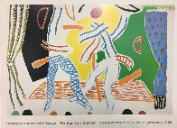 Hockney Paints the Stage Poster 1984 Limited Edition Print by David Hockney - 2