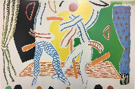 Hockney Paints the Stage Poster 1984 Limited Edition Print by David Hockney - 1