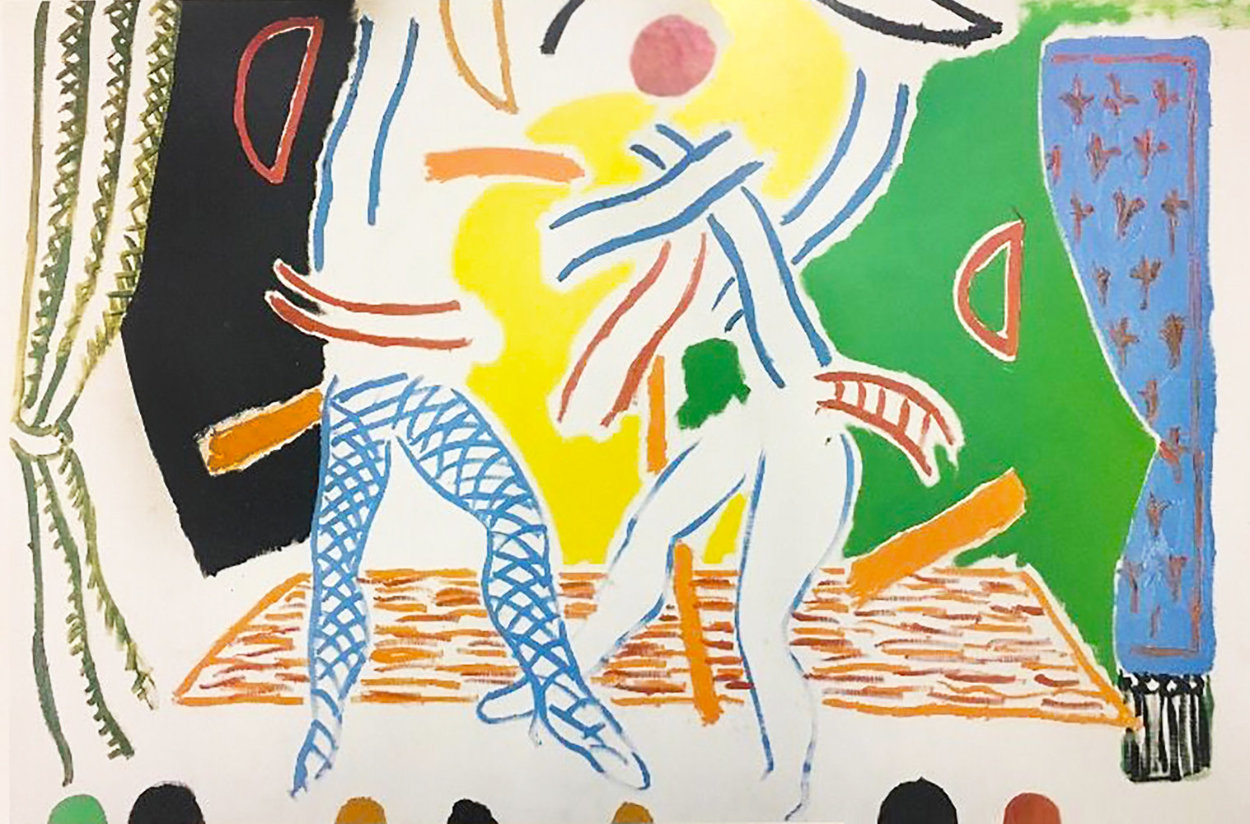 Hockney Paints the Stage Poster 1984 Limited Edition Print by David Hockney