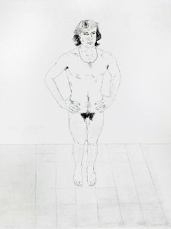 Peter 1969  Limited Edition Print by David Hockney