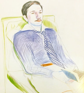 Dessins Et Gravures 1975 HS Limited Edition Print - David Hockney