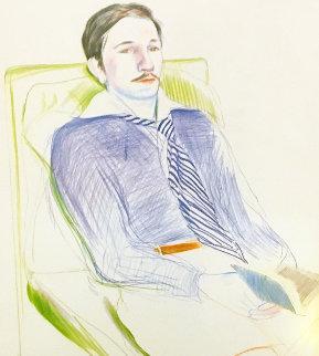Dessins Et Gravures 1975 HS Limited Edition Print - David Hockney
