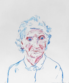 Portrait of Mother 3 1984 Limited Edition Print by David Hockney