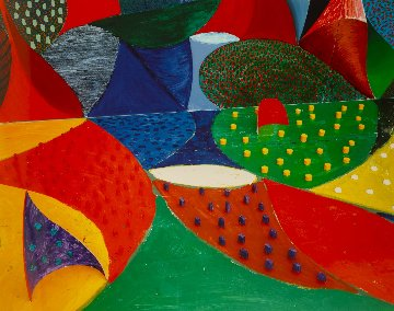Fifth Detail (From 20 Photographs), Snails Space March 27 1995   Limited Edition Print by David Hockney