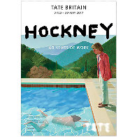 60 Years of Work - Tate Gallery Britain Poster 2017 Limited Edition Print by David Hockney - 1