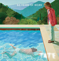 60 Years of Work - Tate Gallery Britain Poster 2017 Limited Edition Print by David Hockney - 2