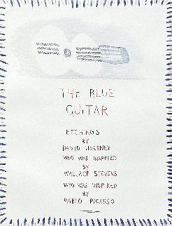 Blue Guitar 1 1977 Limited Edition Print by David Hockney