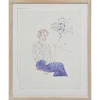Gregory 1974 Limited Edition Print by David Hockney - 2